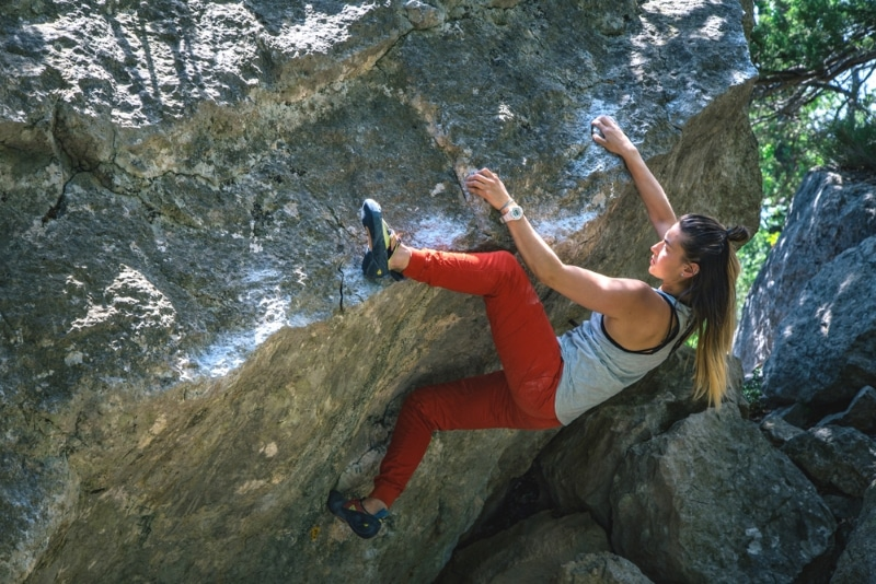 escalade bloc outdoor chamonix col des montets