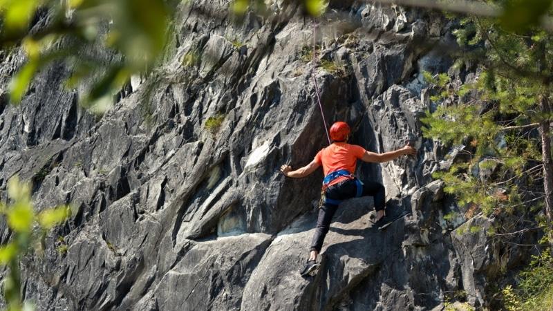 escalade canyon barberine chamonix