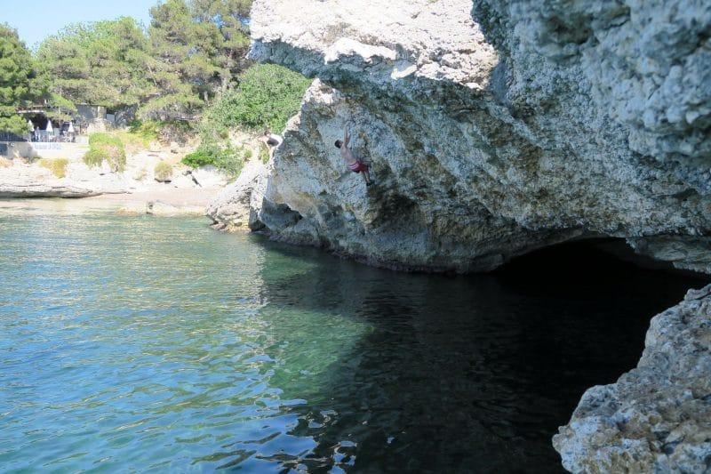 Escalade à Saint Florent, Corse