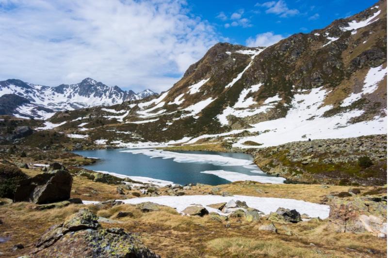 estanys de Tristaina, Andorre