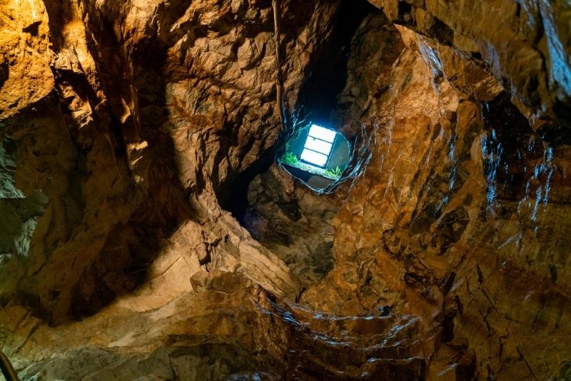 glengowla mines dans le connemara