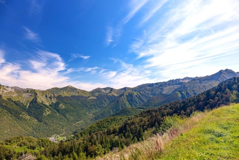 guzet dans les montagnes des pyrenees