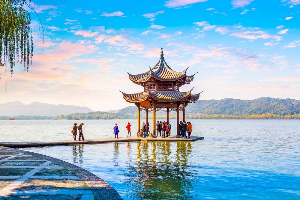 hangzhou lac de l ouest