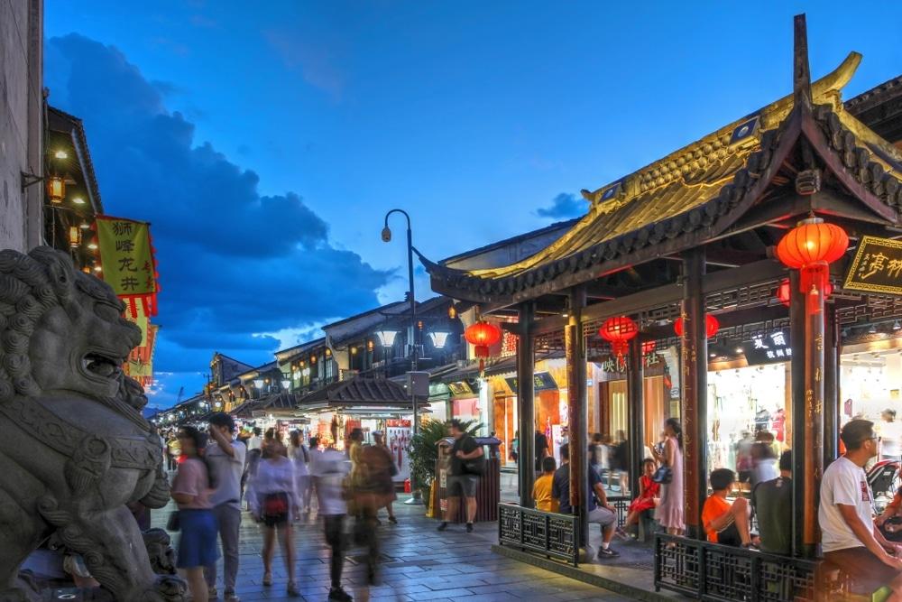 hefang street chine hangzhou