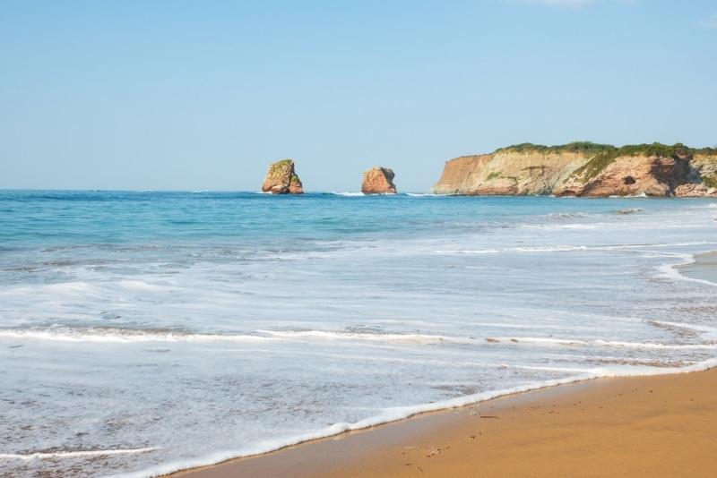Spot de surf en nouvelle Aquitaine : Hendaye plage