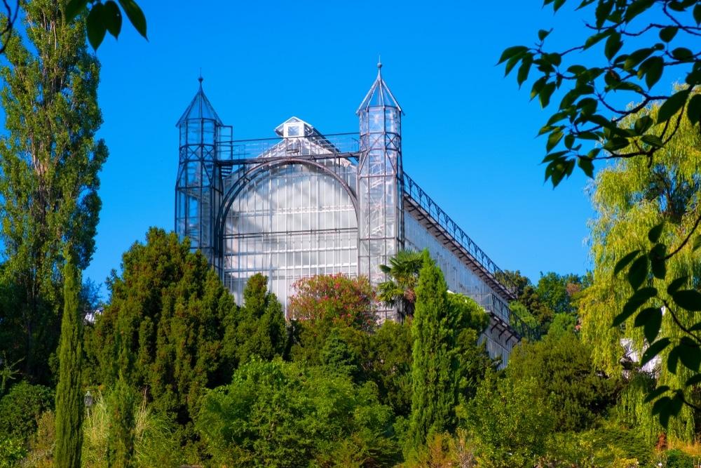 jardins botanique de berlin serres