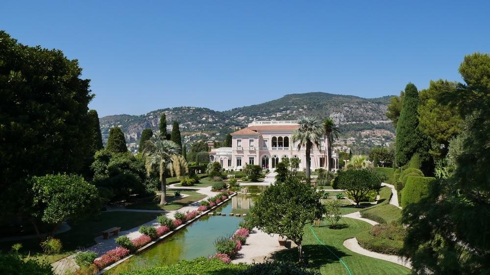 jardins ethrussi villa rothschild nice