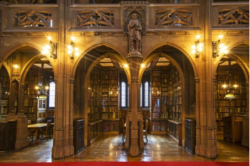 Librairie de John Rylands, Manchester