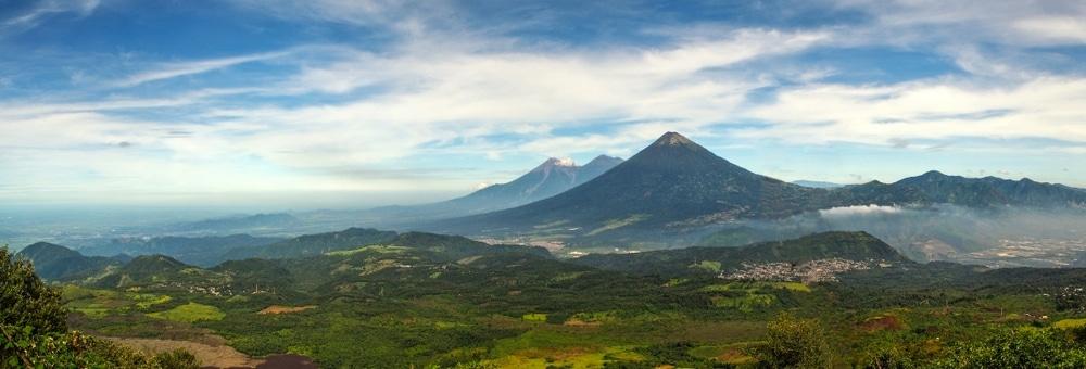 jungle et volcans du guatemala