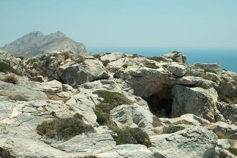 Anciennes ruines romaines de Kastelli, Anafi