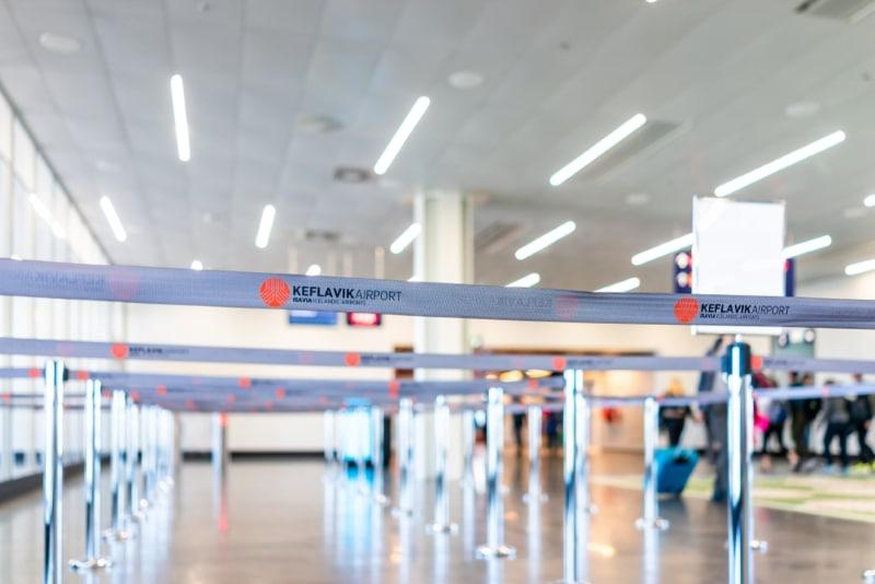 kelavik aeroport interieur