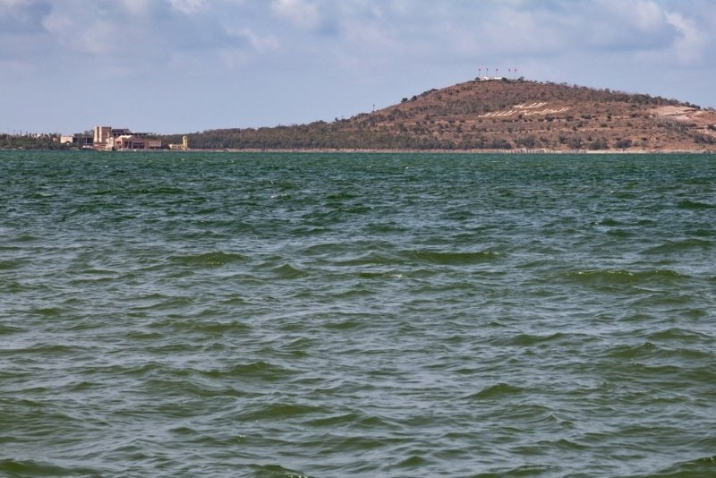 la lagune de nador au maroc