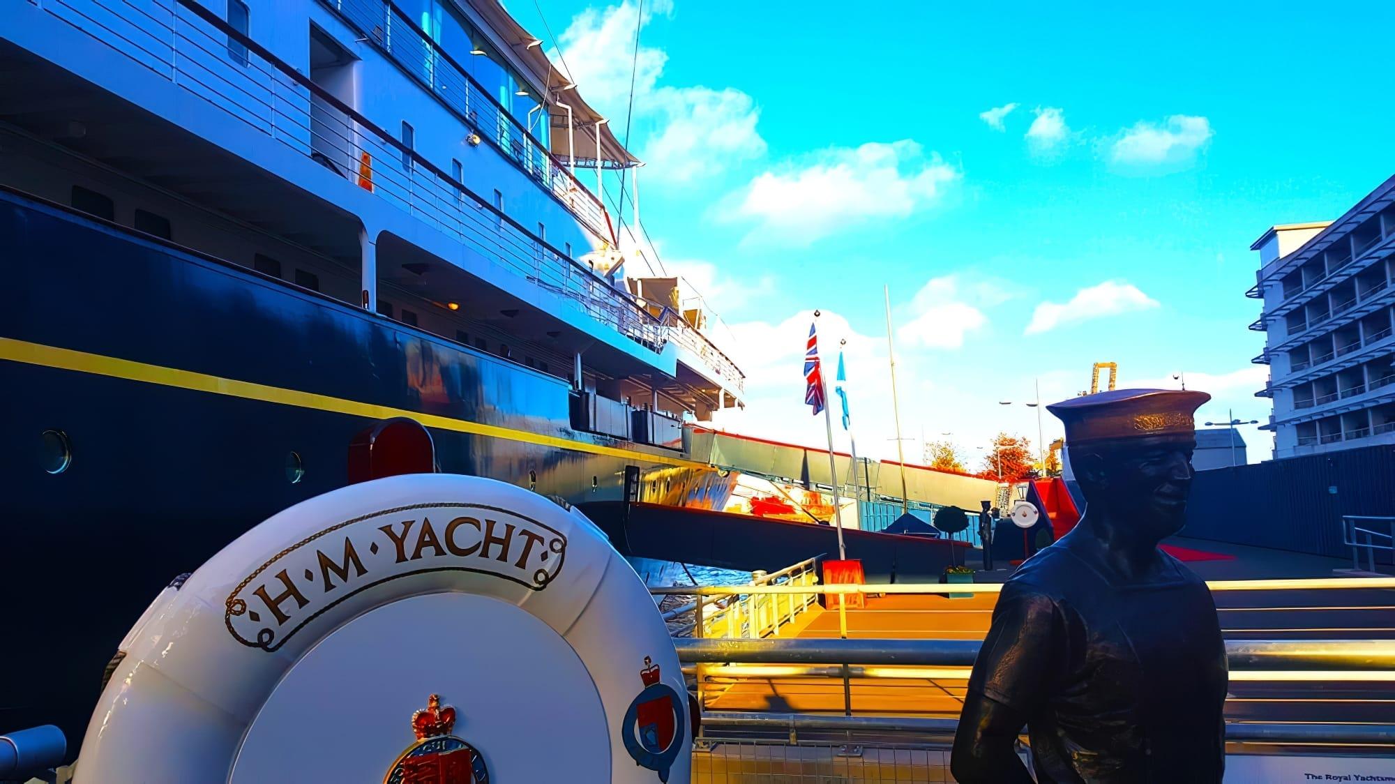 la yacht royal britannia