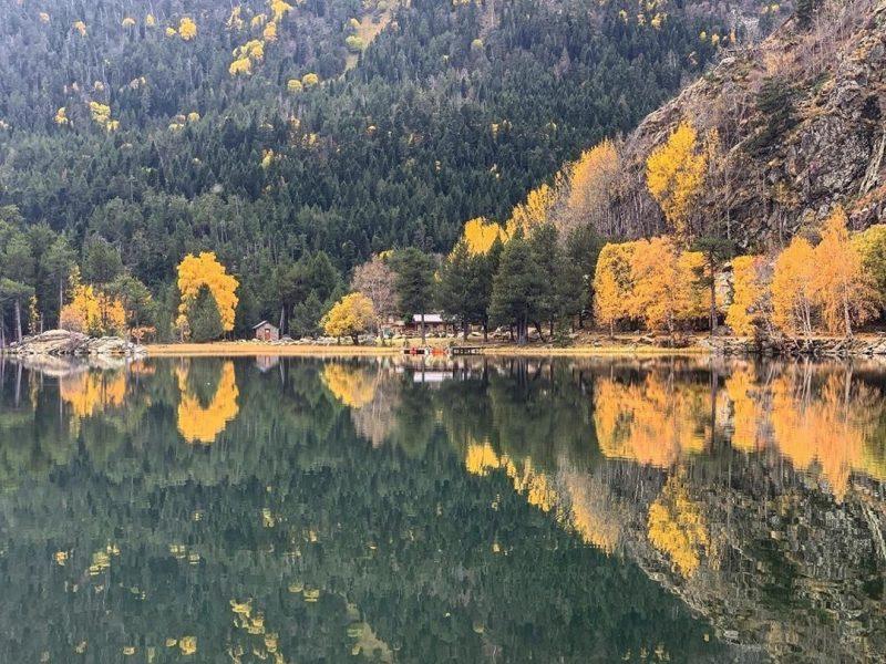 Lac de Balcère, Les Angles