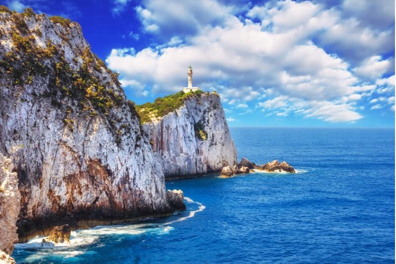 Cape Lefkata, Grèce