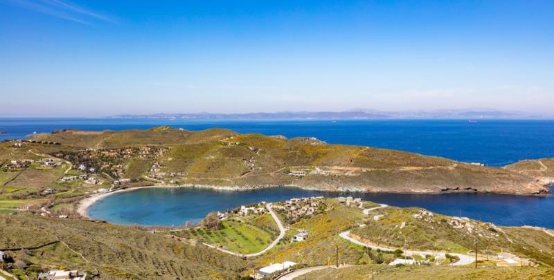 les plages de kea en grece