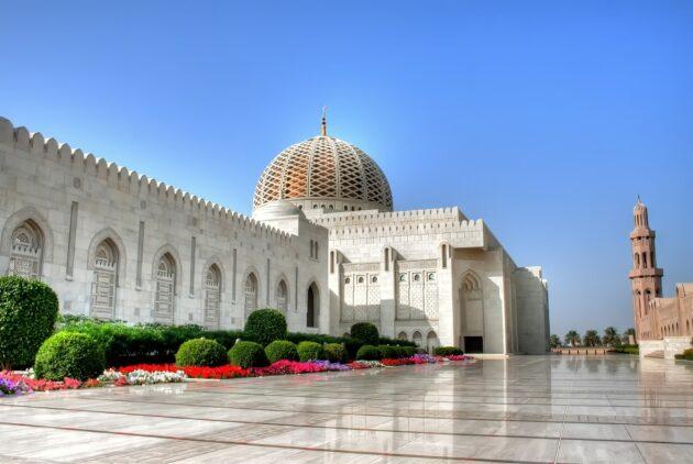 loger mascate oman grande mosquee