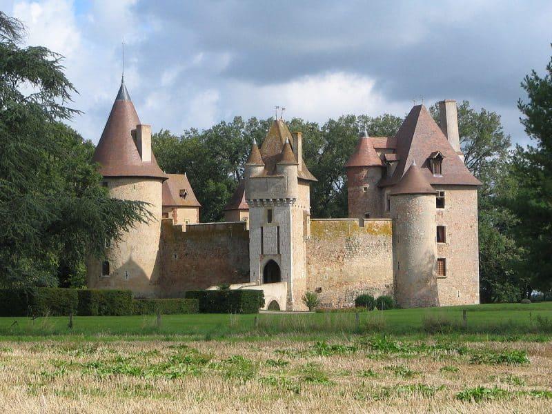 Chateau de Thoury, Saint-Poucain-sur-Bresbre