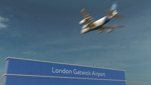 londres gatwick aeroport
