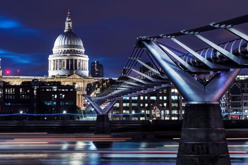 londres pont millenium bridge mangemorts harry potter 6