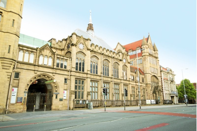 Manchester Museum, extérieur