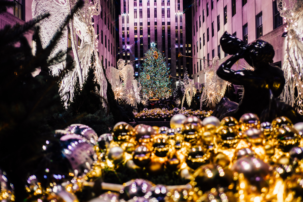 Marché de Noël à New York