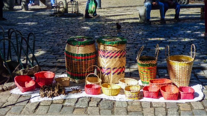 Paniers en osier, Florianopolis, Brésil