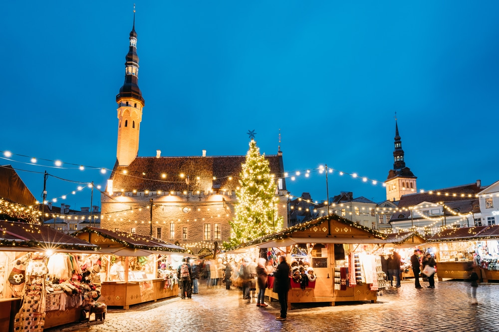 Tallinn marché de Noël