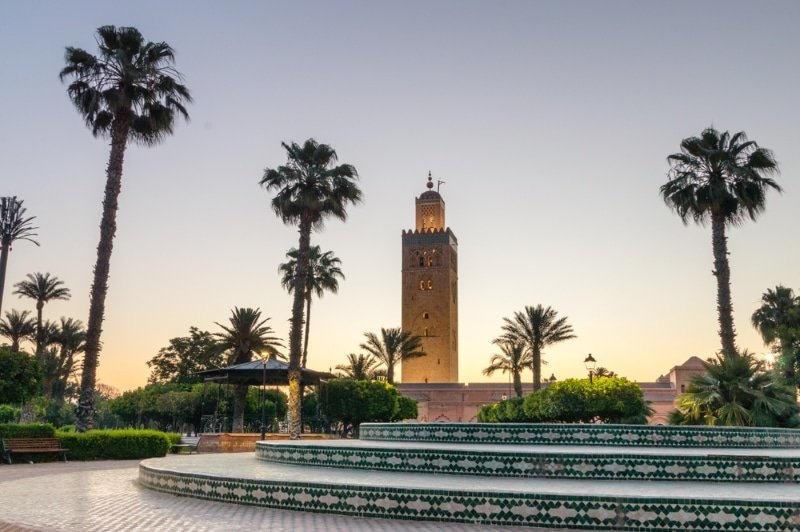 marrakech medina visiter la mosquee de koutoubia
