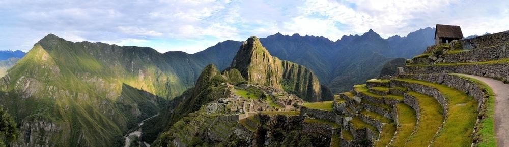 montagnes du machu picchu