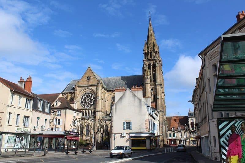 Eglise du Sacré Coeur, Moulins