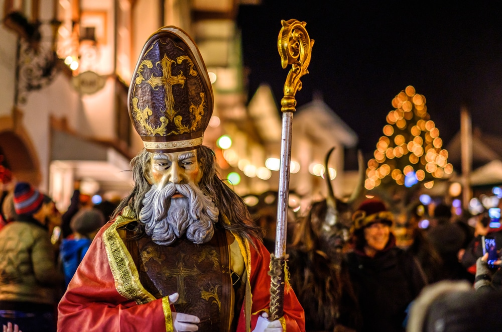 Noël en Allemagne, 8 décembre, défilé