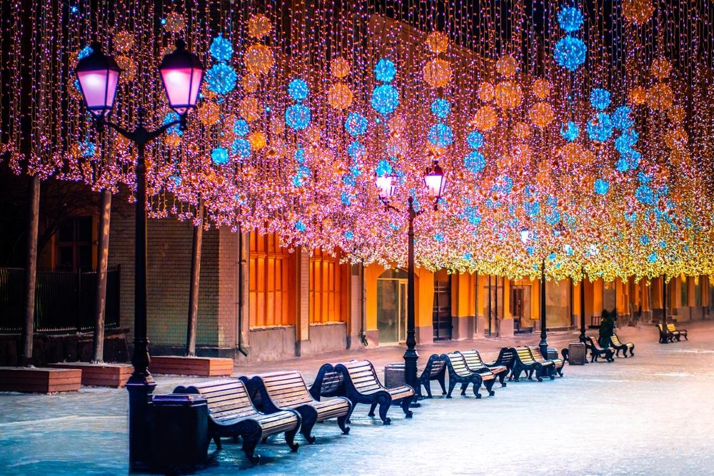 Illuminations à Moscou