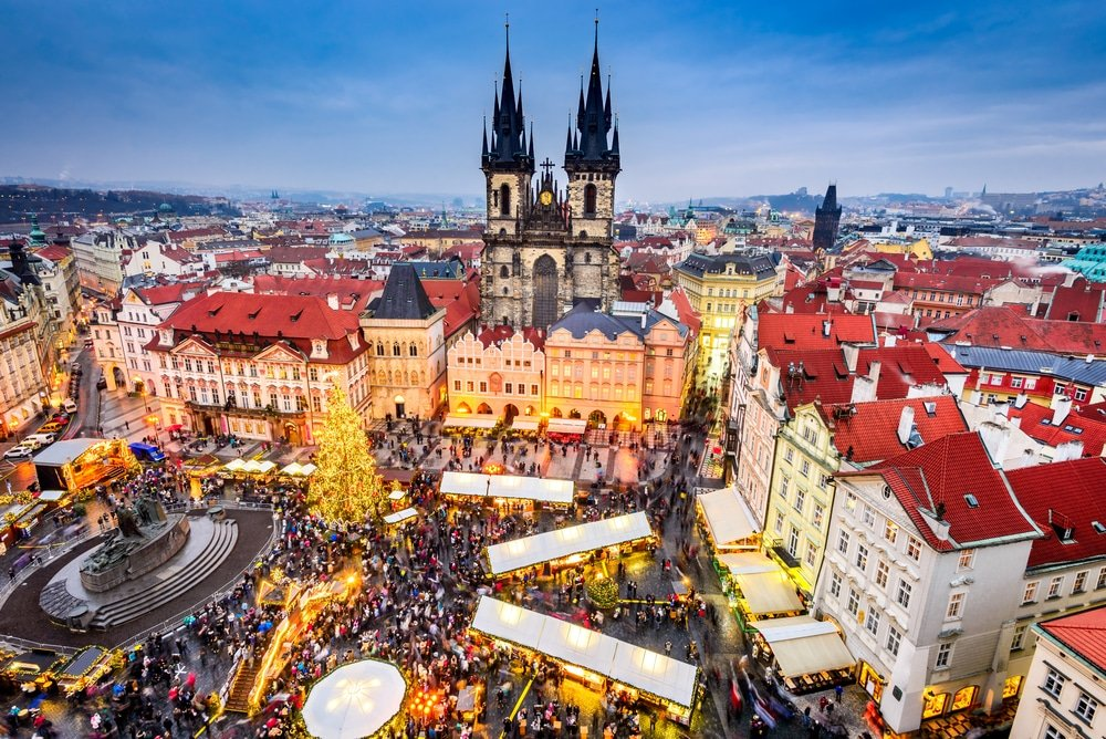 Noël à Prague, marché