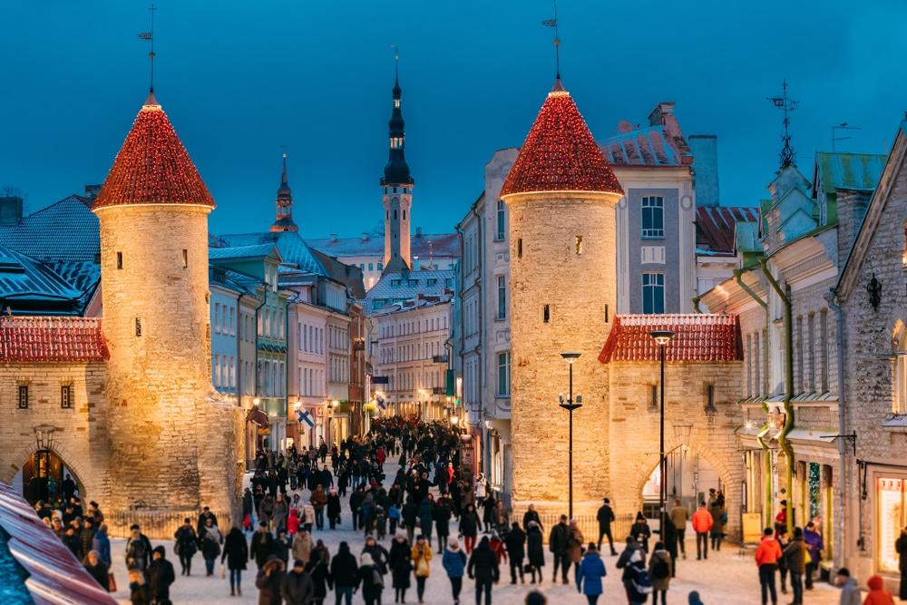 Noël à Tallinn, Estonie