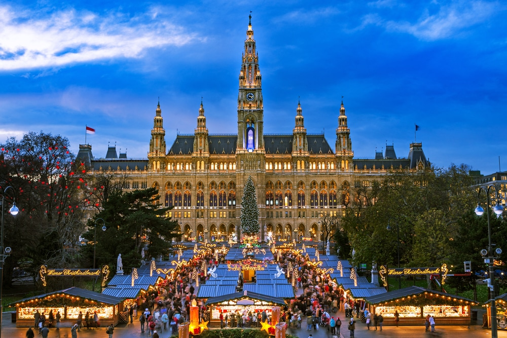 Marché de Noël à Vienne