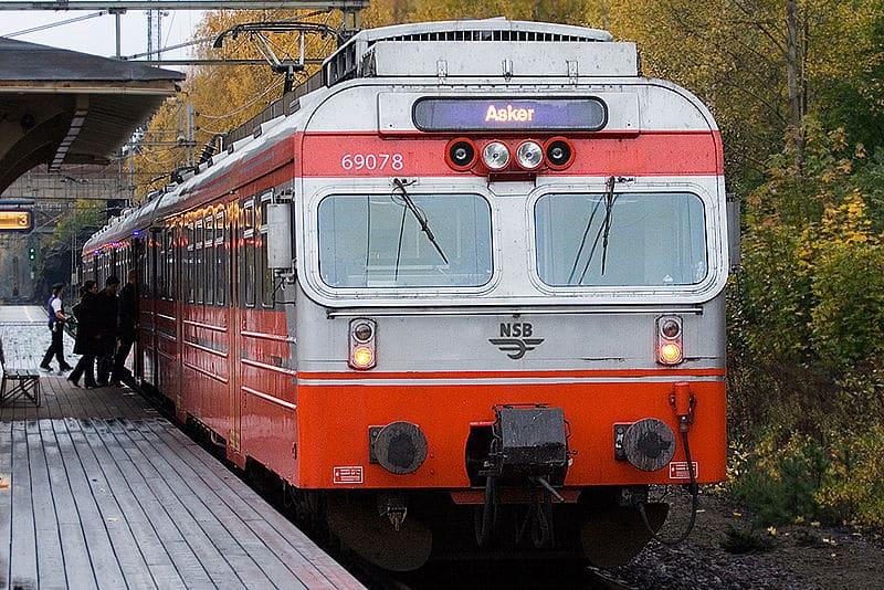 Train NSB aéroport