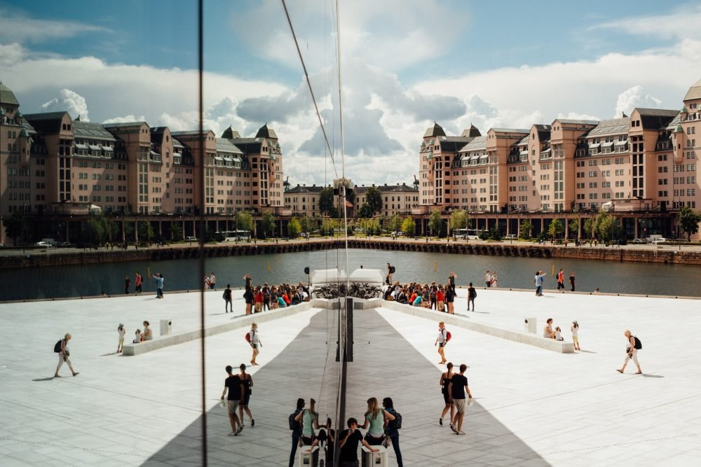 Oslo, Norvège, Opéra House