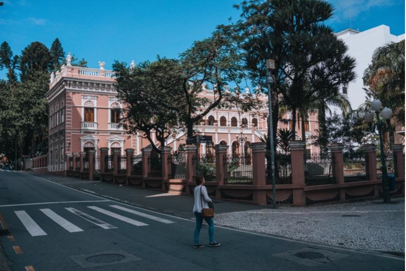 Palais Cruz e Sousa, Florianópolis
