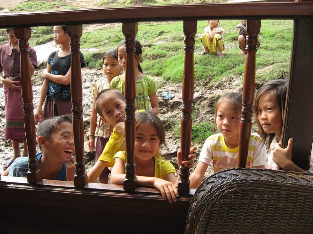 peuple laos loum enfants