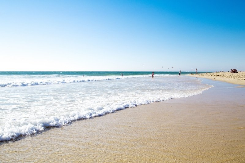 plage de biscarosse nord ou faire du surf