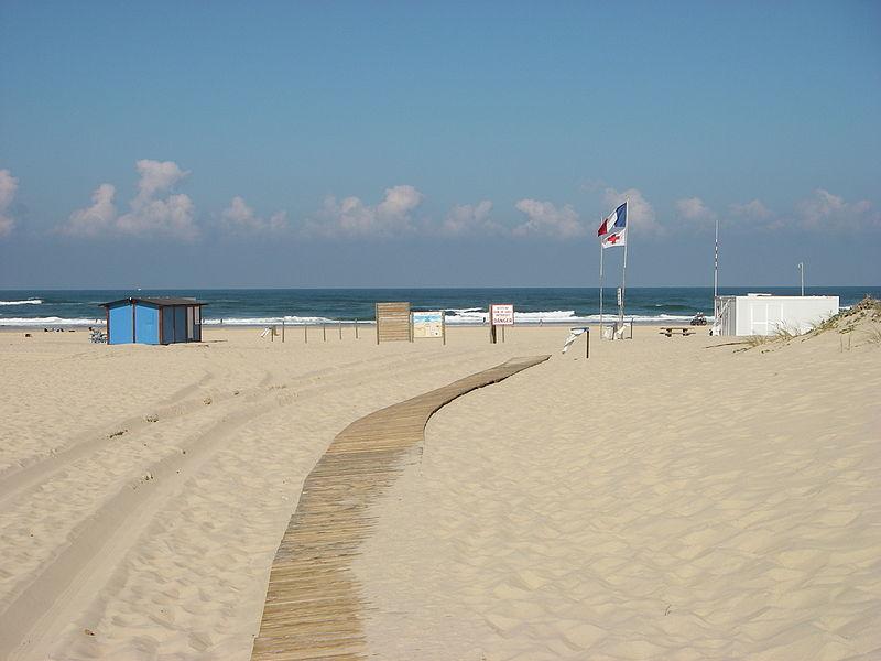 plage de la salie pour faire du surf
