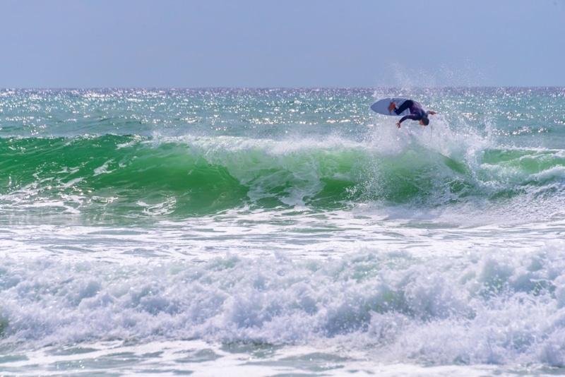 plage de lacanau ocean surf vagues
