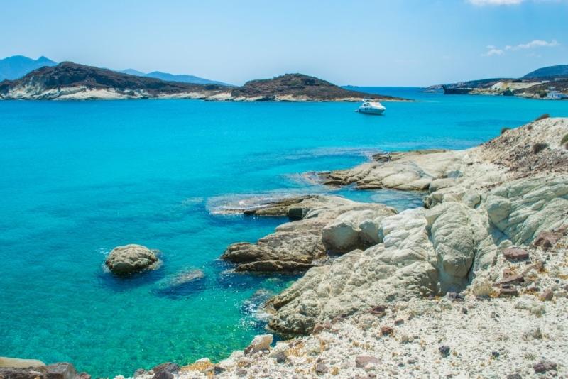 plage paradisiaque ile grece dans les cyclades