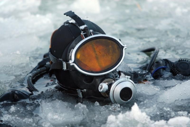 plongee sous glace lac du lou savoie