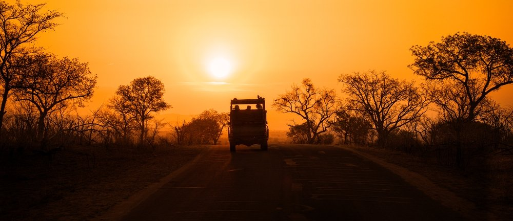 plus beau safari monde parc national kruger coucher de soleil