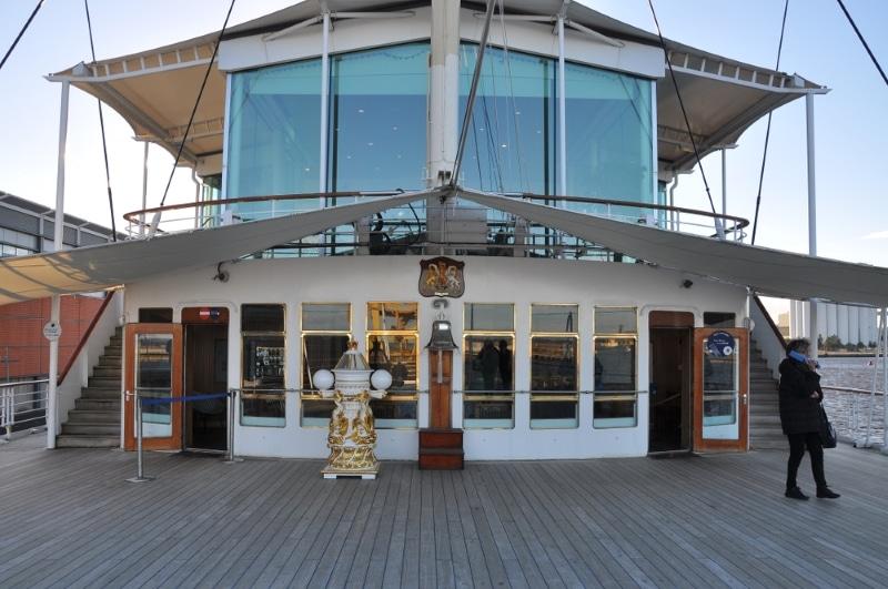 pont principal du yacht royal britannia