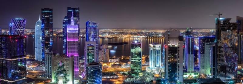quartier de west bay a doha au qatar