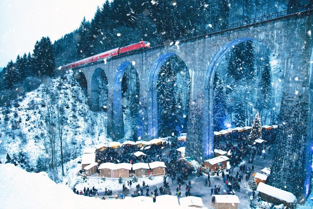 Marché de Noël, Gorges de Ravena