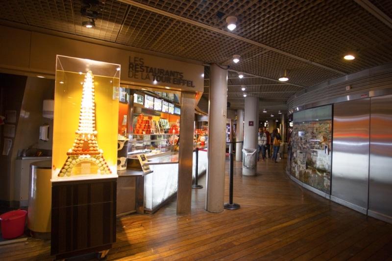 restaurant tour eiffel et boutiques premier etage